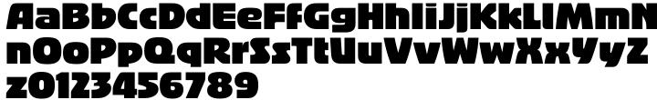Bigband™ Font Sample