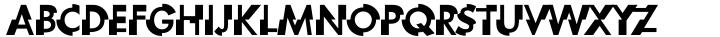 Zipper Font Sample