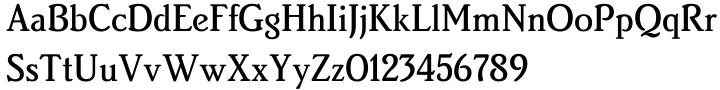 Brighton™ Font Sample