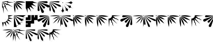 Altemus Corners Font Sample