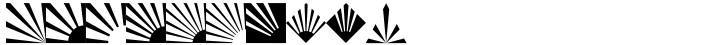 Altemus Rays Font Sample