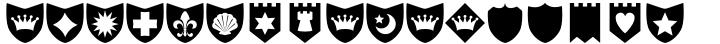 Altemus Shields Font Sample