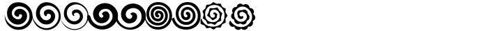 Altemus Spirals Font Sample