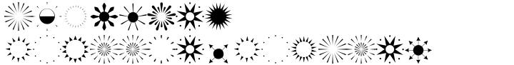 Altemus Suns Font Sample