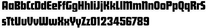 Futura ND Display® Font Sample