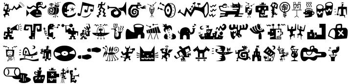 Bartalk Font Sample
