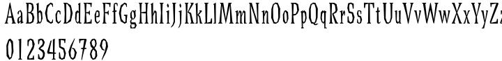 Bradley Font Sample
