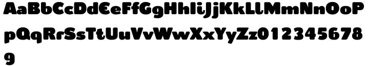 Cepo Font Sample