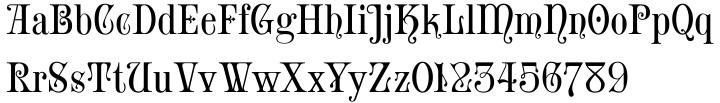 Iskola Font Sample