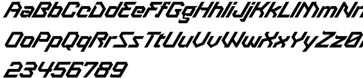 Treble Font Sample
