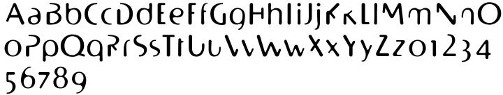 BioPlasm™ Font Sample