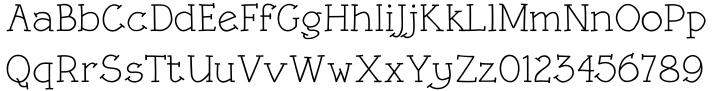 Linotype Rough™ Font Sample