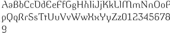 Morphica™ Font Sample