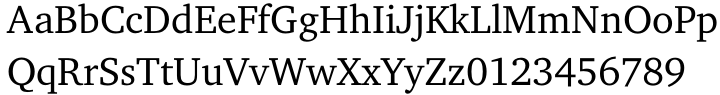 ITC Charter® Font Sample