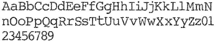 Buttzilla Font Sample