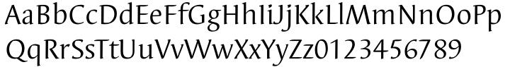 EF Elysa Font Sample