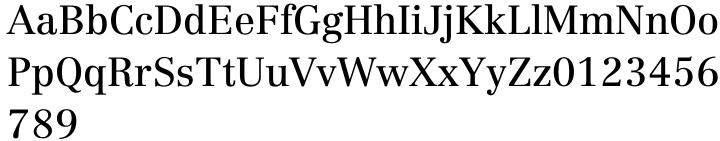 Linotype Centennial® Font Sample
