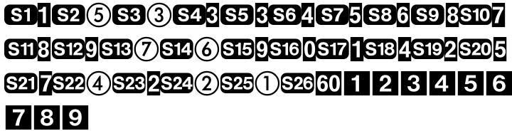Deutsche Bahn AG Font Sample