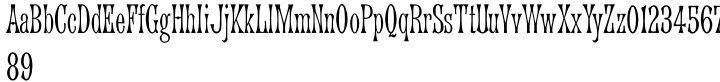 Arched Gothic Condensed SG™ Font Sample