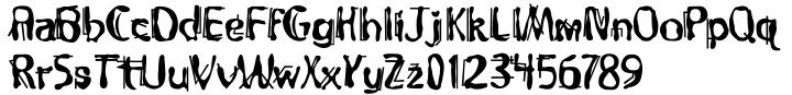 Dramaminex Font Sample