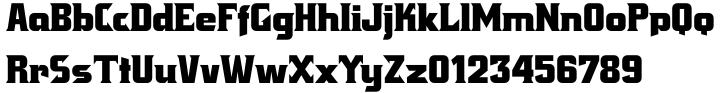 Crayfish AS Font Sample