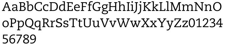 PMN Caecilia® Font Sample