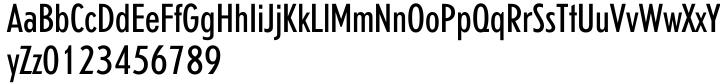 Erbar™ Font Sample