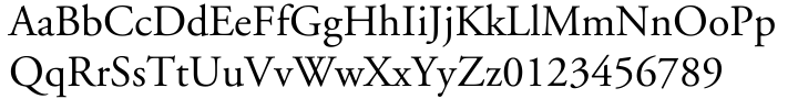 Adobe Garamond™ Font Sample
