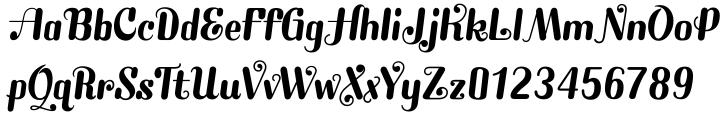 Southland JF Font Sample