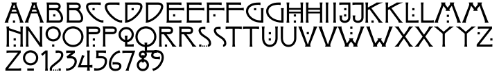 Arts And Crafts JY Font Sample