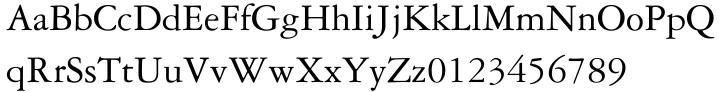 Garamond 3® Font Sample