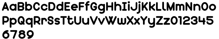 Chickens Font Sample