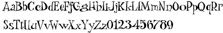 Wackado® Font Sample