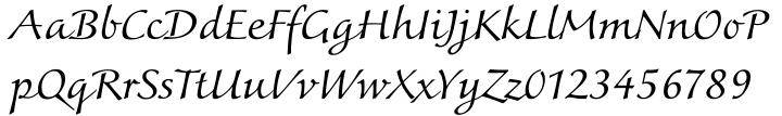 Colombine® Font Sample