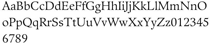 Guardi® Font Sample