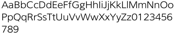 Benjamin Font Sample