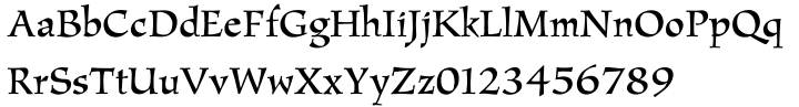 Amigo™ Font Sample