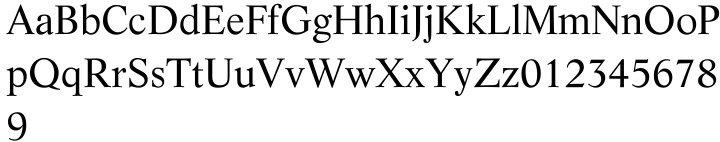 Life® Font Sample