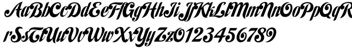 Habano ST Font Sample