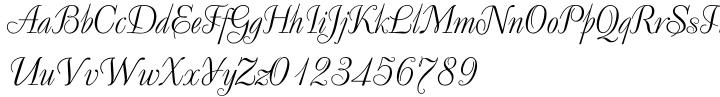 Decor Font Sample