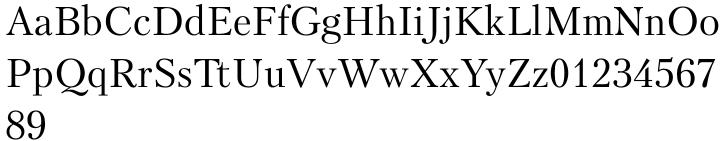 Petersburg Font Sample