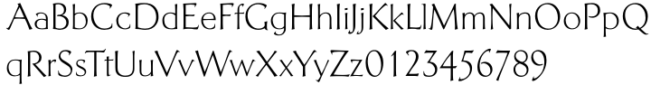 Telingater Display™ Font Sample