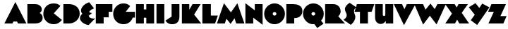 Unovis™ Font Sample