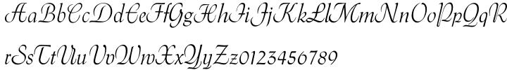 Gavotte™ Font Sample