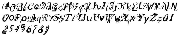 Elliott's Font Sample