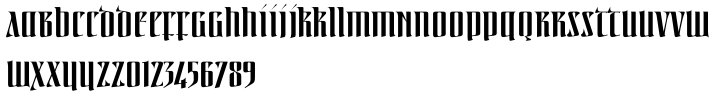 Linotype Irish Text™ Font Sample