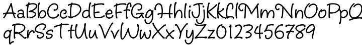 Christine™ Font Sample