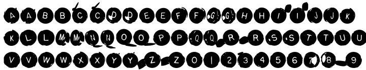 Backspacer™ Font Sample