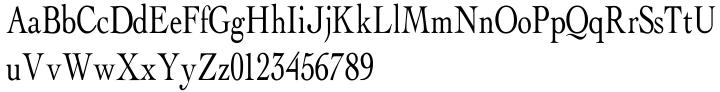 Abalone Font Sample