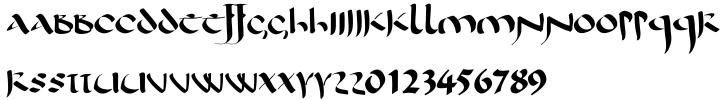 Antioch Font Sample